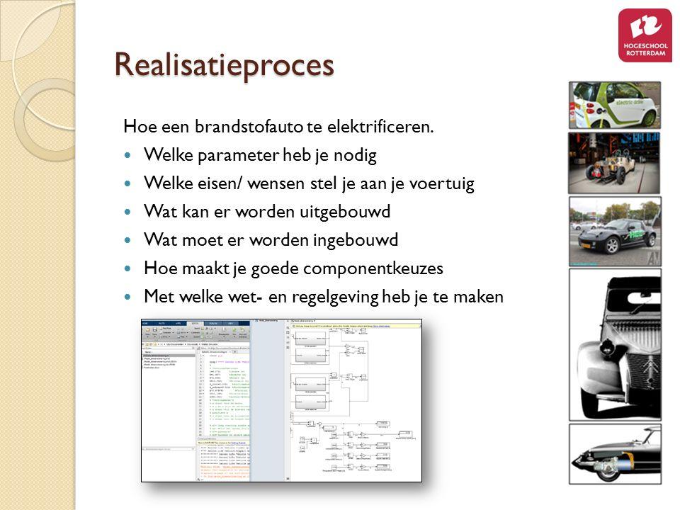 Realisatieproces Hoe een brandstofauto te elektrificeren.