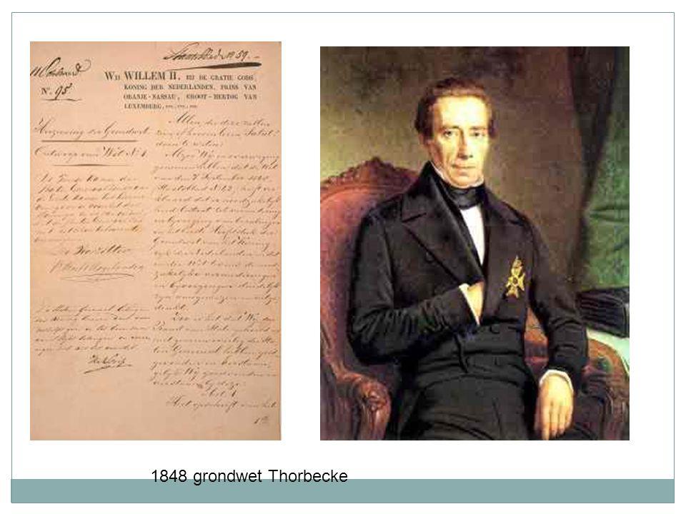 1848 grondwet Thorbecke