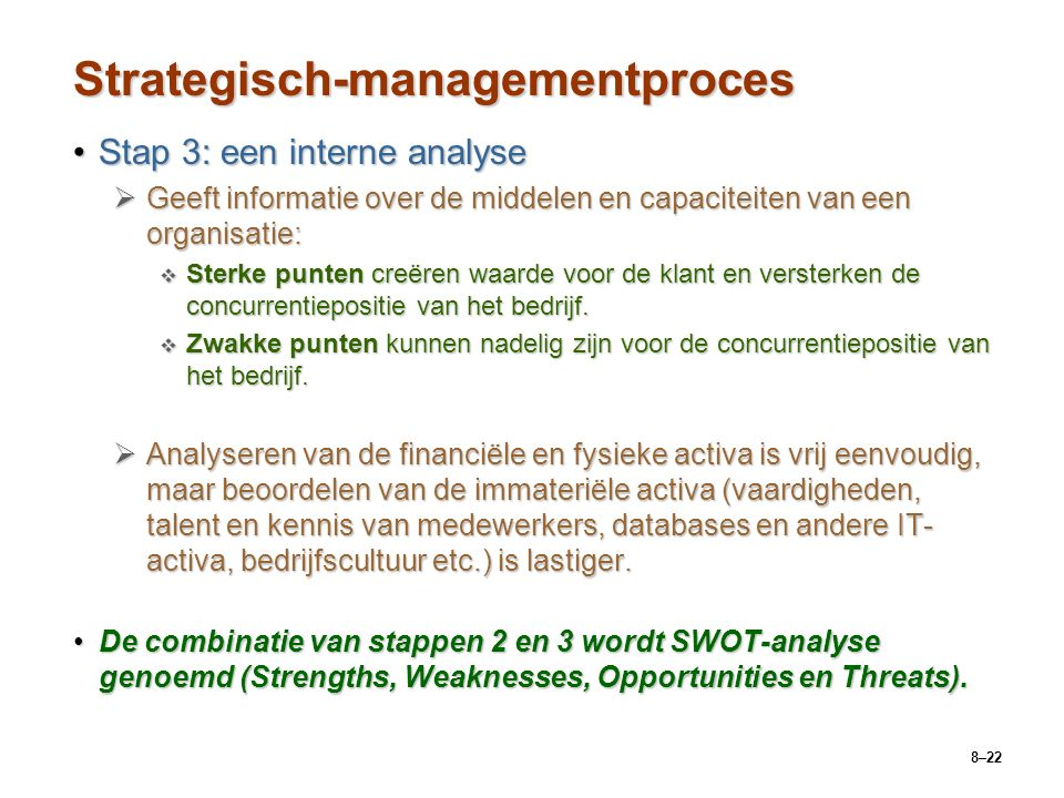 Strategisch-managementproces