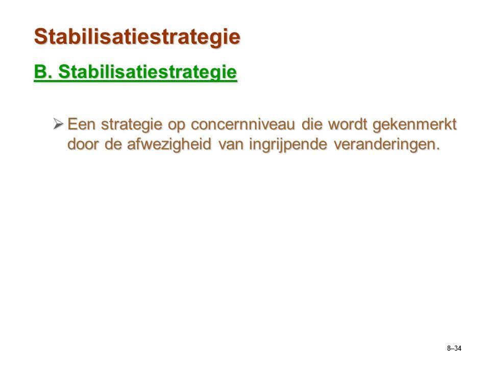 Stabilisatiestrategie