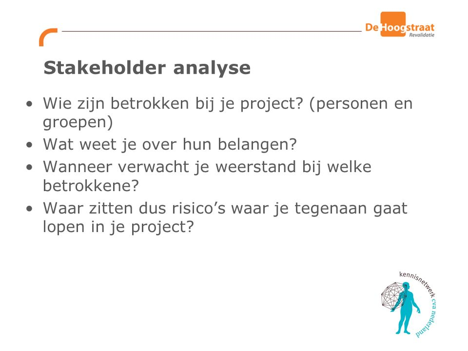 swot analyse persoon