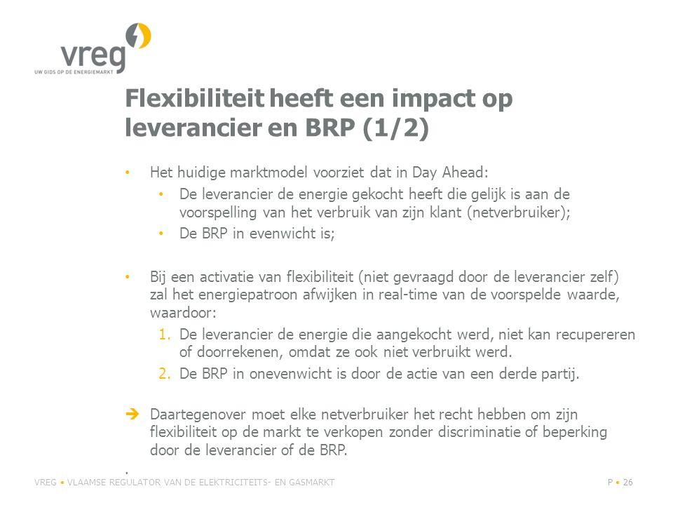 Flexibiliteit heeft een impact op leverancier en BRP (1/2)