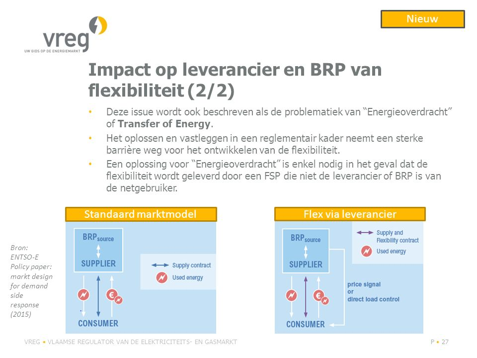 Impact op leverancier en BRP van flexibiliteit (2/2)