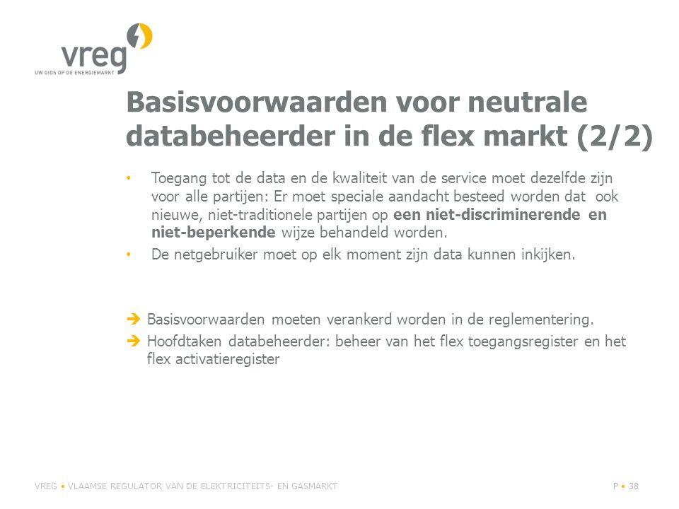 Basisvoorwaarden voor neutrale databeheerder in de flex markt (2/2)