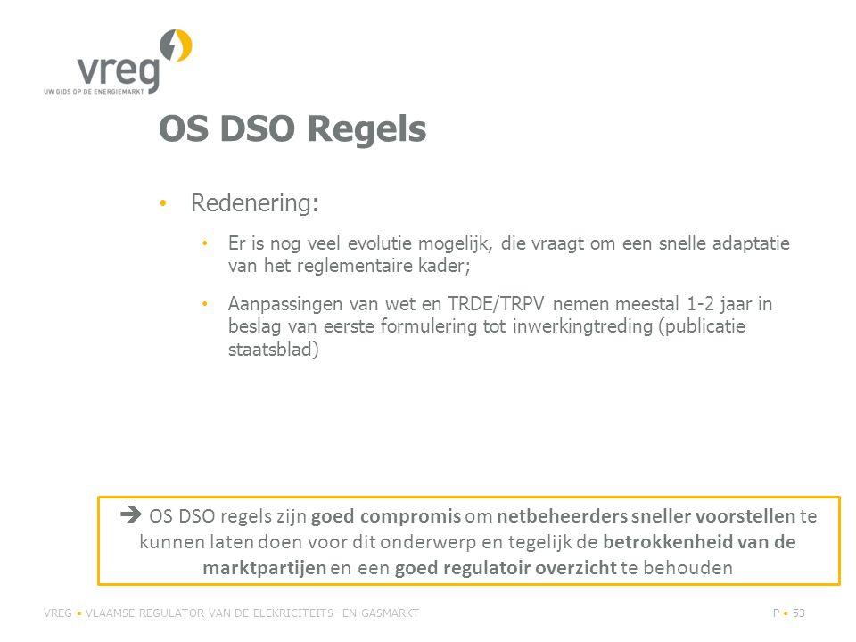 OS DSO Regels Redenering: