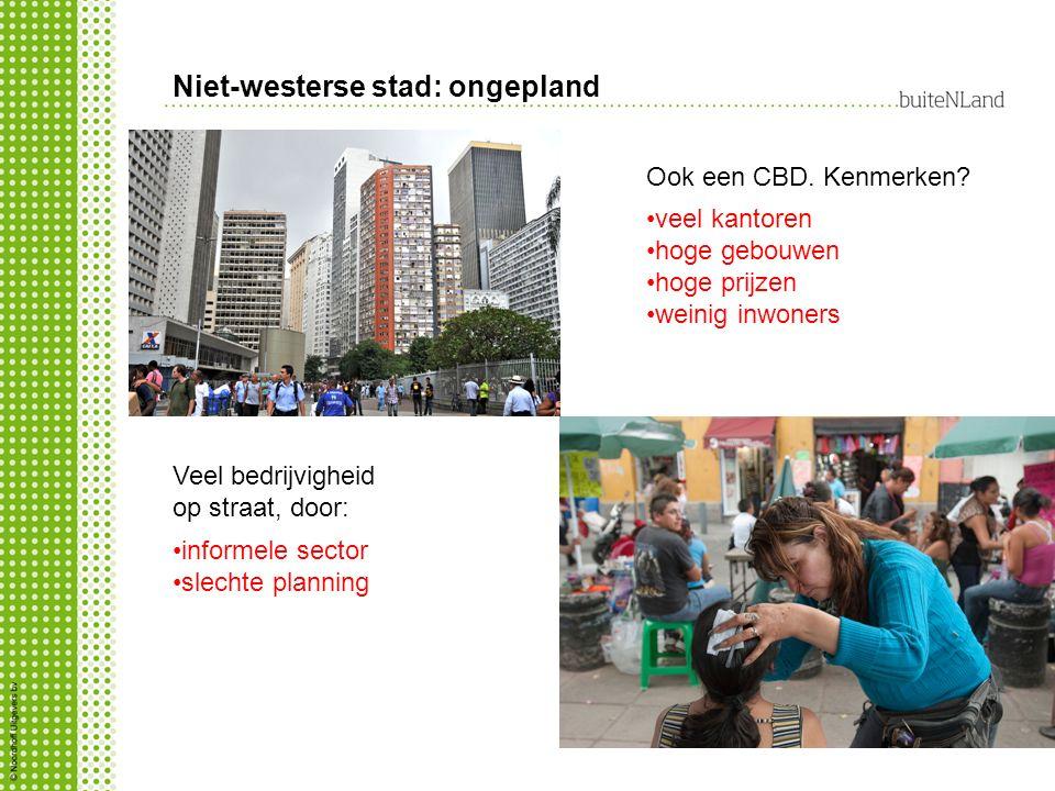 Niet-westerse stad: ongepland
