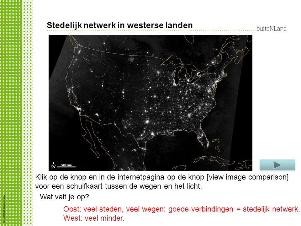 Stedelijk netwerk in westerse landen