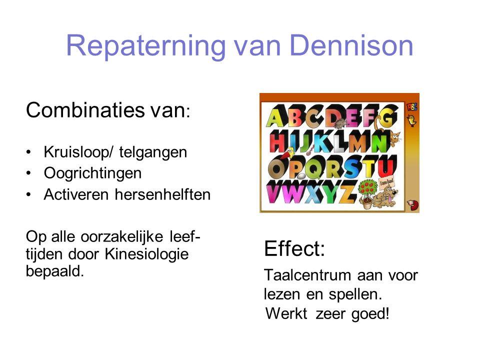 Repaterning van Dennison