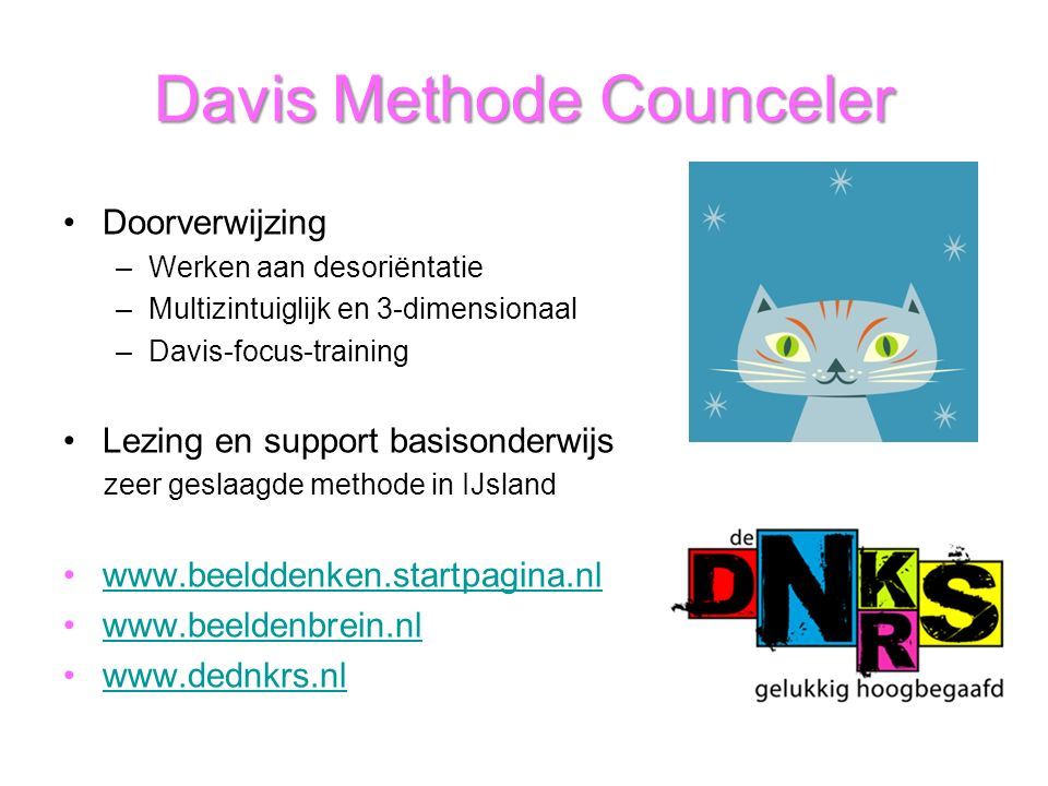 Davis Methode Counceler