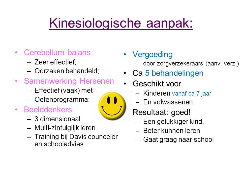 Kinesiologische aanpak: