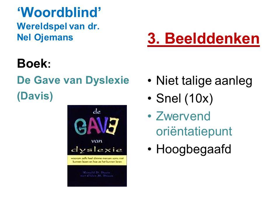 'Woordblind' Wereldspel van dr. Nel Ojemans