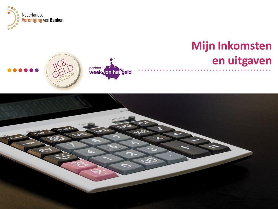 Mijn Inkomsten en uitgaven (1 m.) Klassikale aftrap