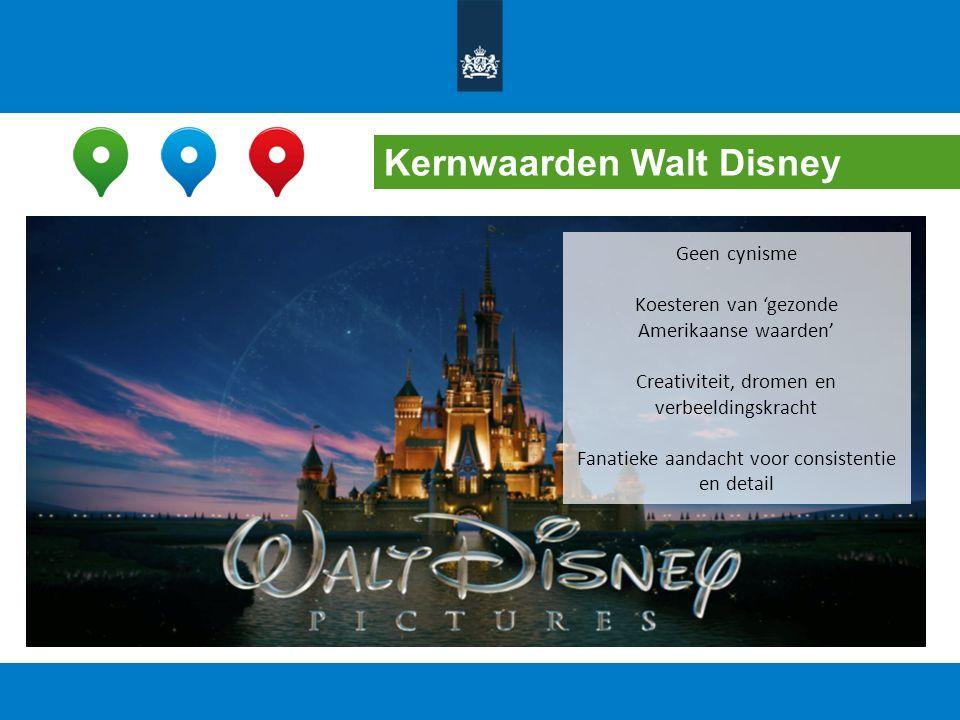 Kernwaarden Walt Disney