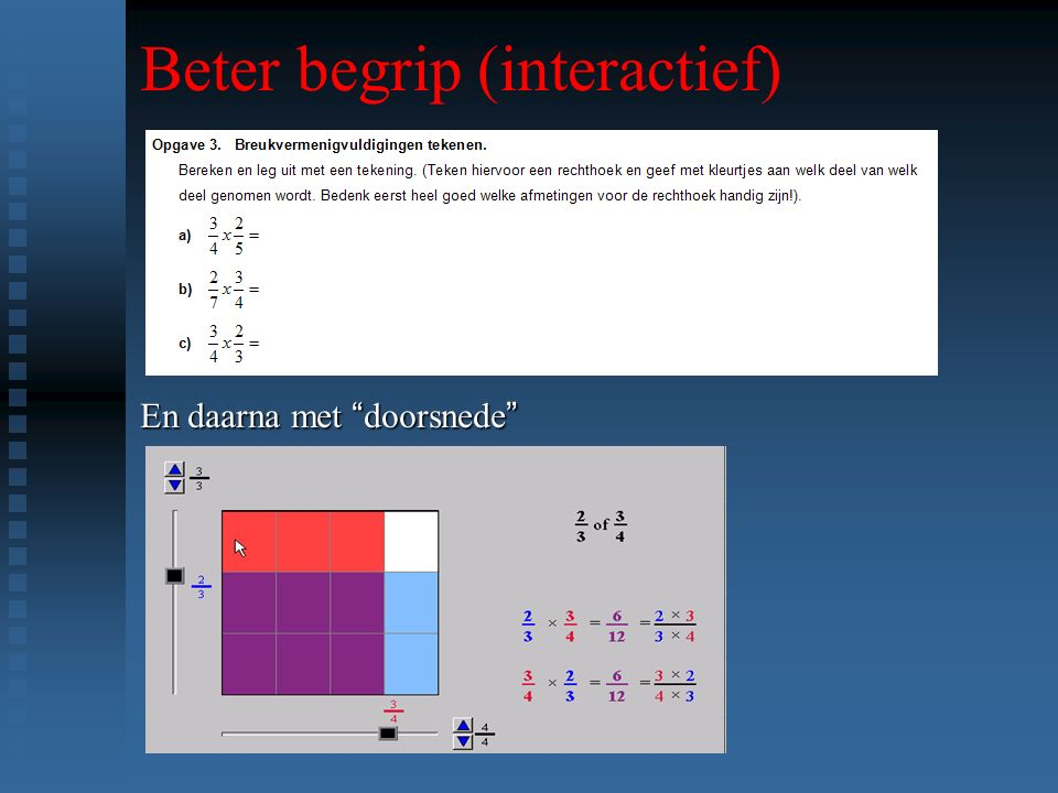 Beter begrip (interactief)