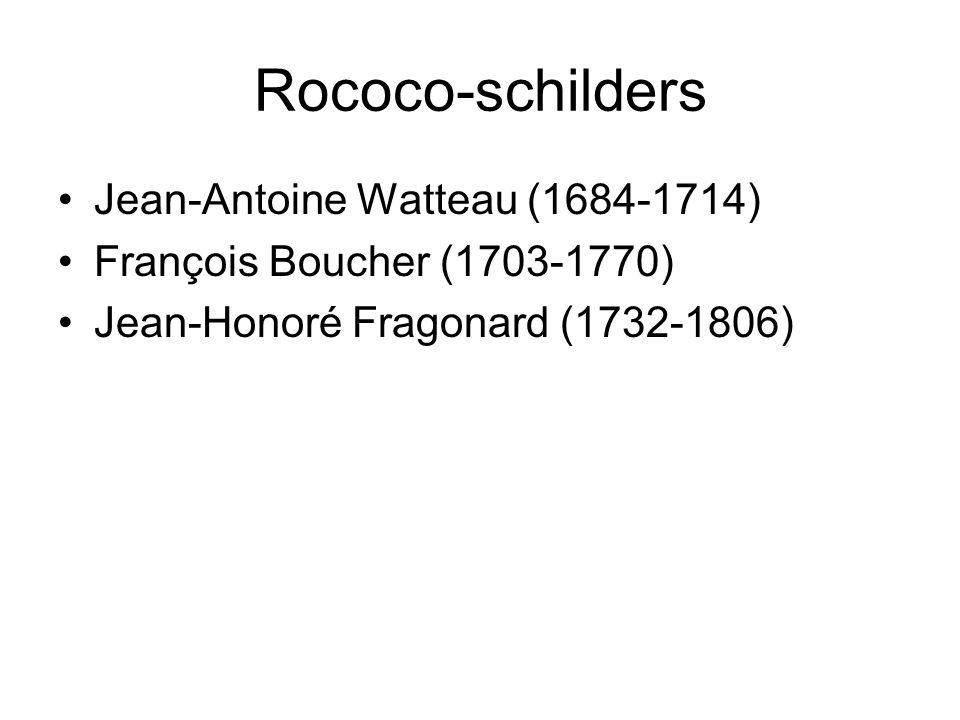 Rococo-schilders Jean-Antoine Watteau (1684-1714)