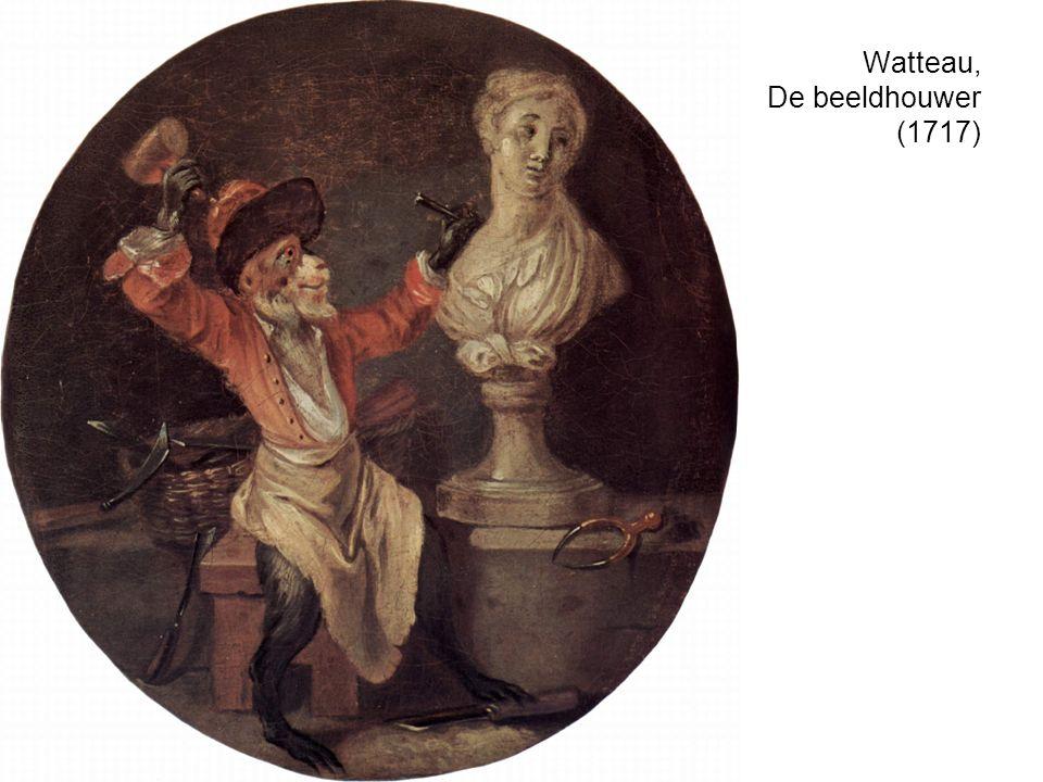 Watteau, De beeldhouwer (1717)