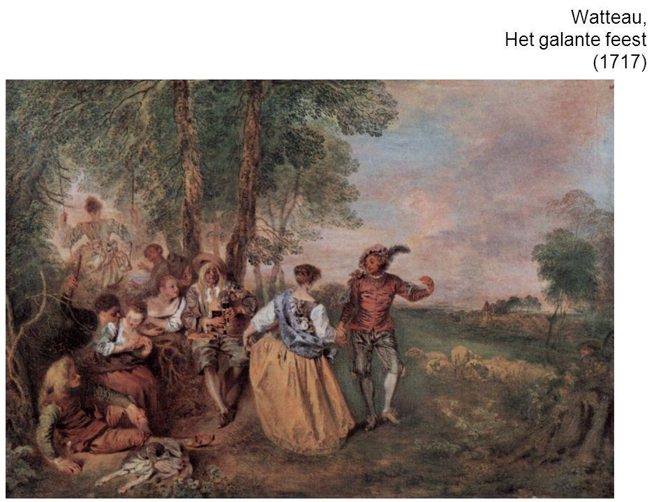 Watteau, Het galante feest (1717)