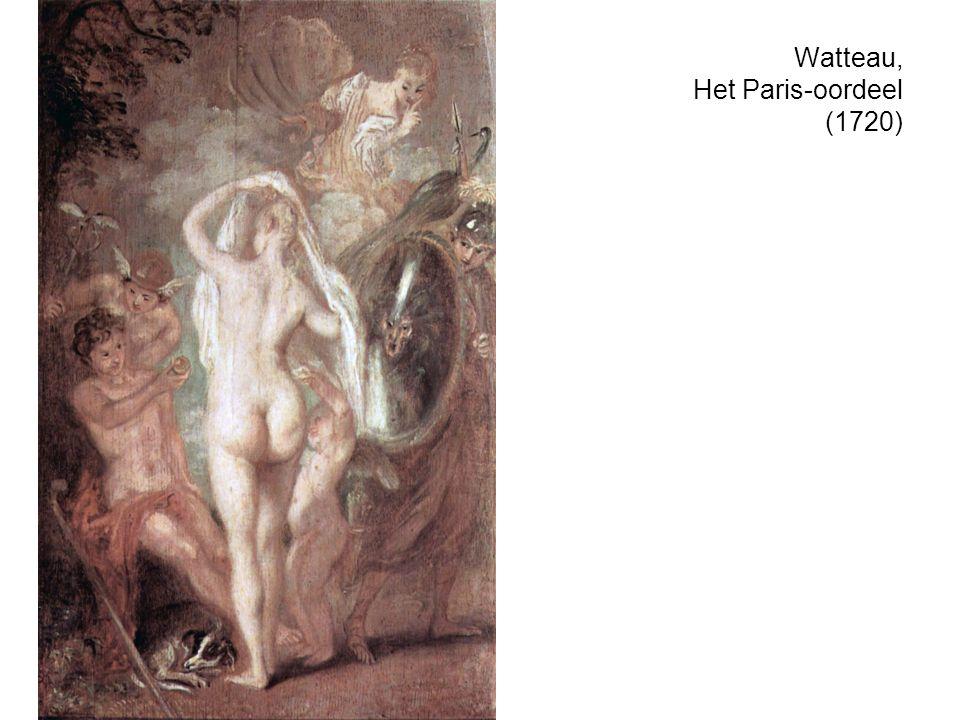 Watteau, Het Paris-oordeel (1720)