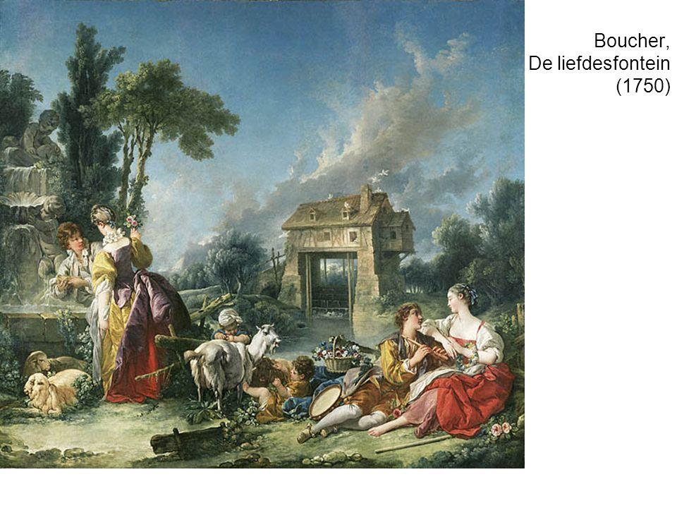 Boucher, De liefdesfontein (1750)