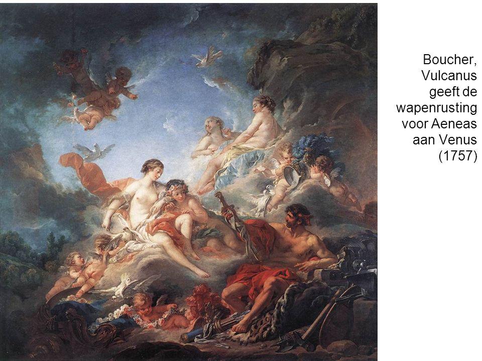 Boucher, Vulcanus geeft de wapenrusting voor Aeneas aan Venus (1757)