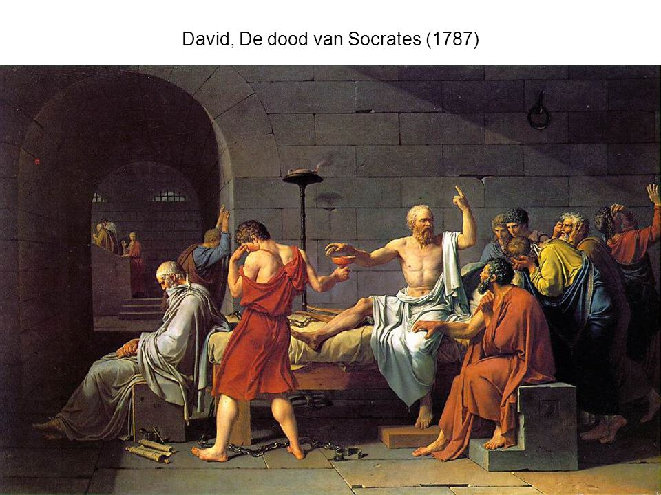 David, De dood van Socrates (1787)