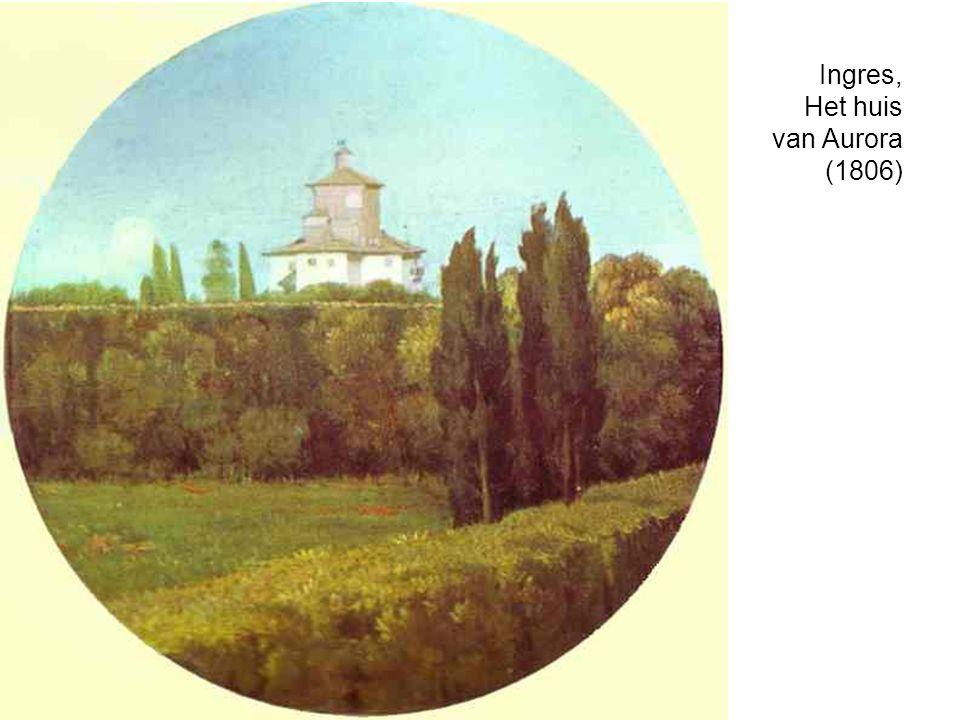 Ingres, Het huis van Aurora (1806)