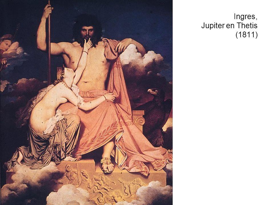 Ingres, Jupiter en Thetis (1811)