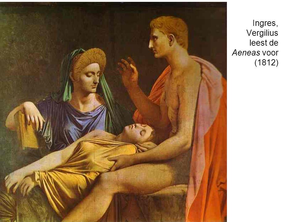 Ingres, Vergilius leest de Aeneas voor (1812)