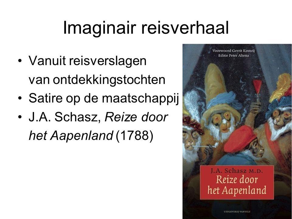 Imaginair reisverhaal