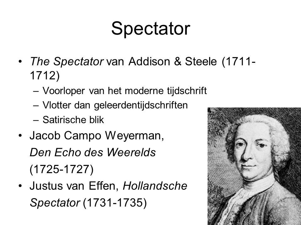 Spectator The Spectator van Addison & Steele (1711-1712)