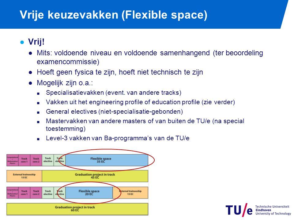 Externe stage 15 ects Werk+verslaglegging binnen één kwartiel