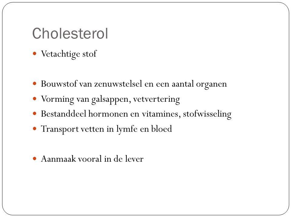 Cholesterol Vetachtige stof