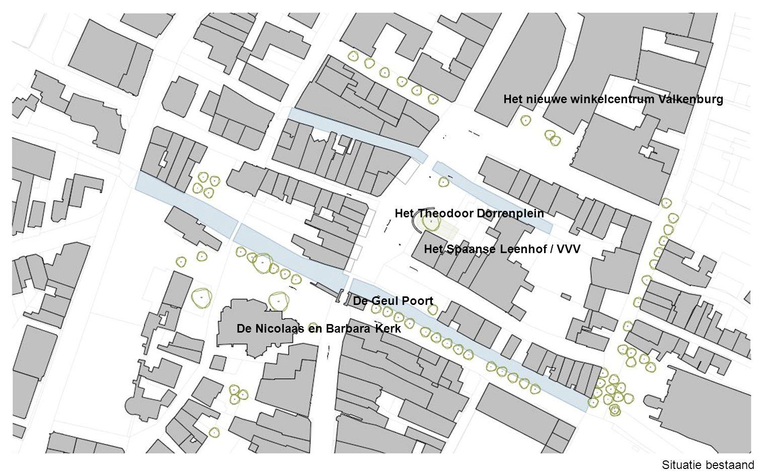Het nieuwe winkelcentrum Valkenburg