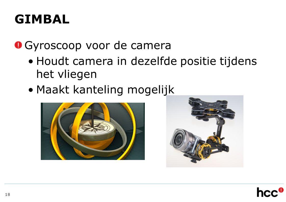 GIMBAL Gyroscoop voor de camera