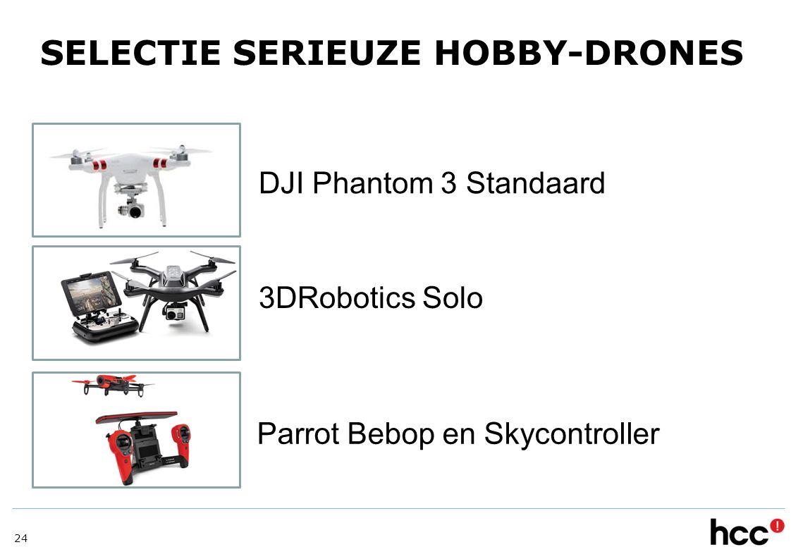 SELECTIE SERIEUZE HOBBY-DRONES
