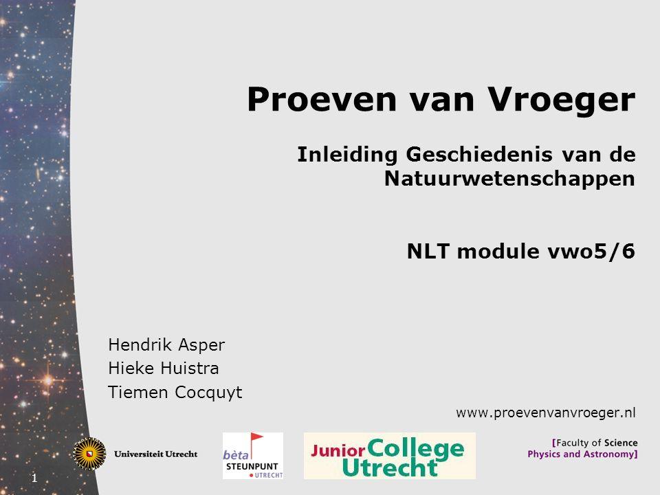 Hendrik Asper Hieke Huistra Tiemen Cocquyt www.proevenvanvroeger.nl