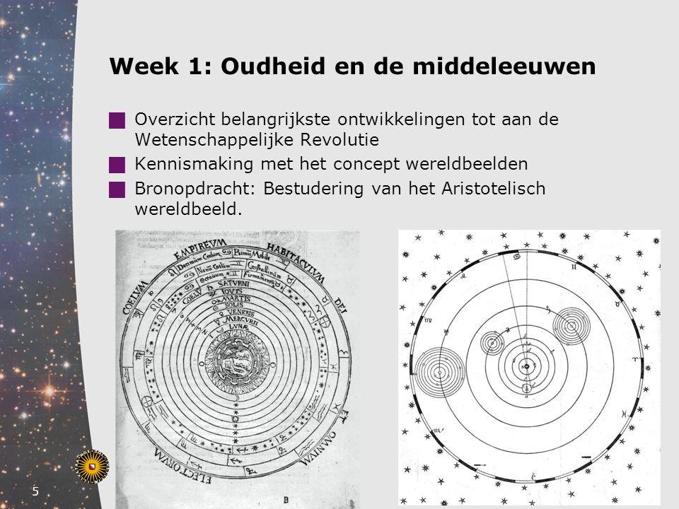 Week 1: Oudheid en de middeleeuwen