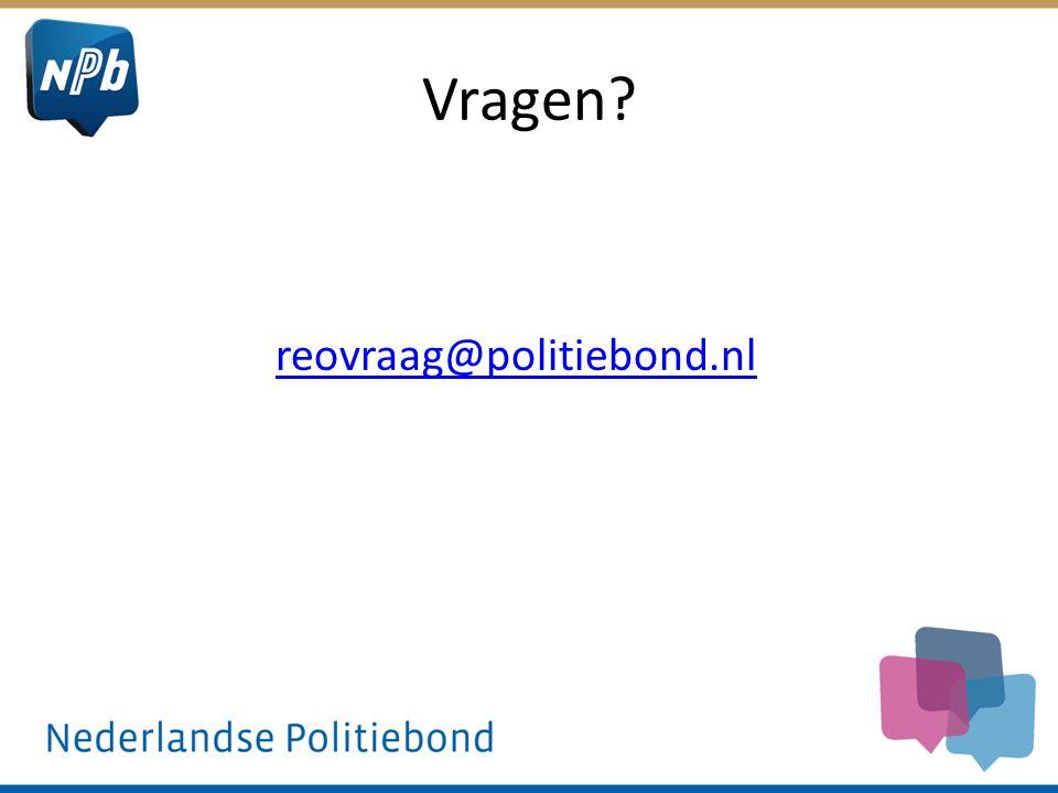 Vragen reovraag@politiebond.nl