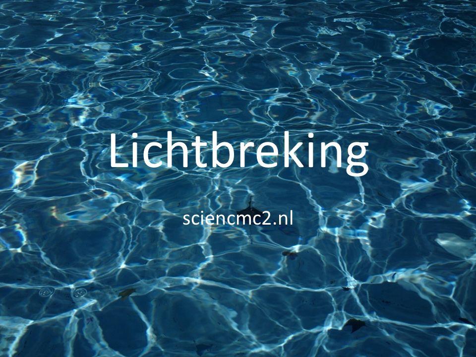Lichtbreking sciencmc2.nl