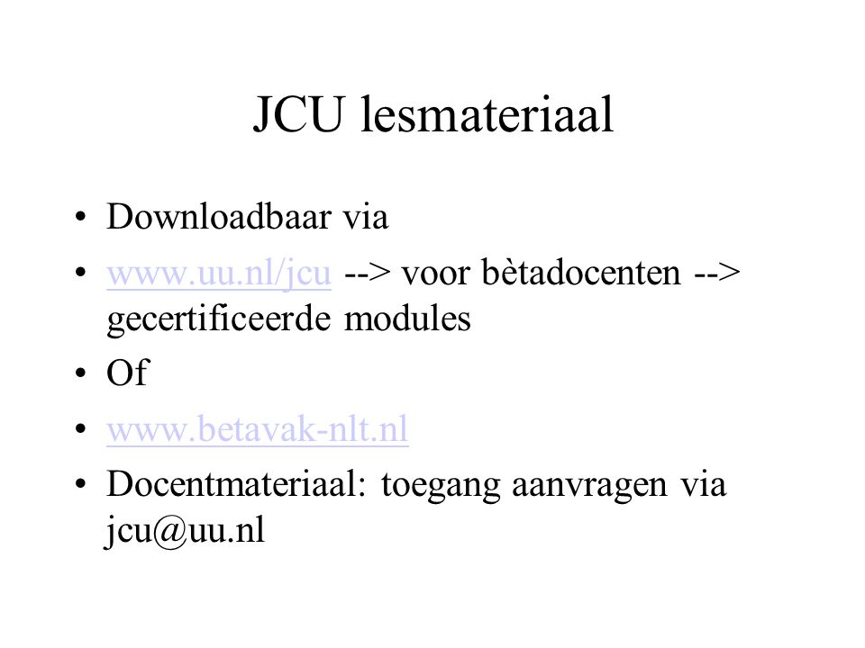JCU lesmateriaal Downloadbaar via