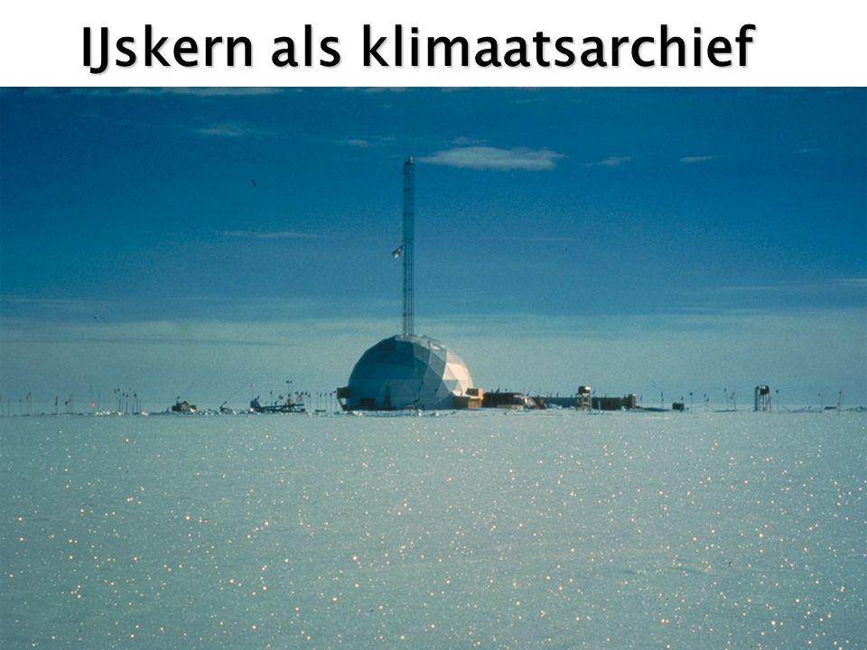 IJskern als klimaatsarchief