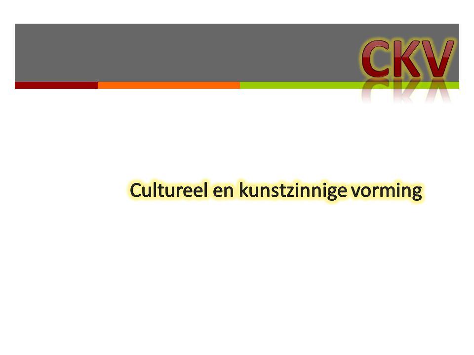 Cultureel en kunstzinnige vorming