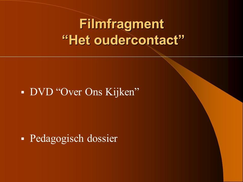 Filmfragment Het oudercontact