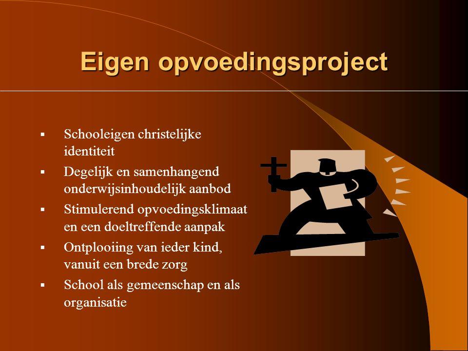 Eigen opvoedingsproject