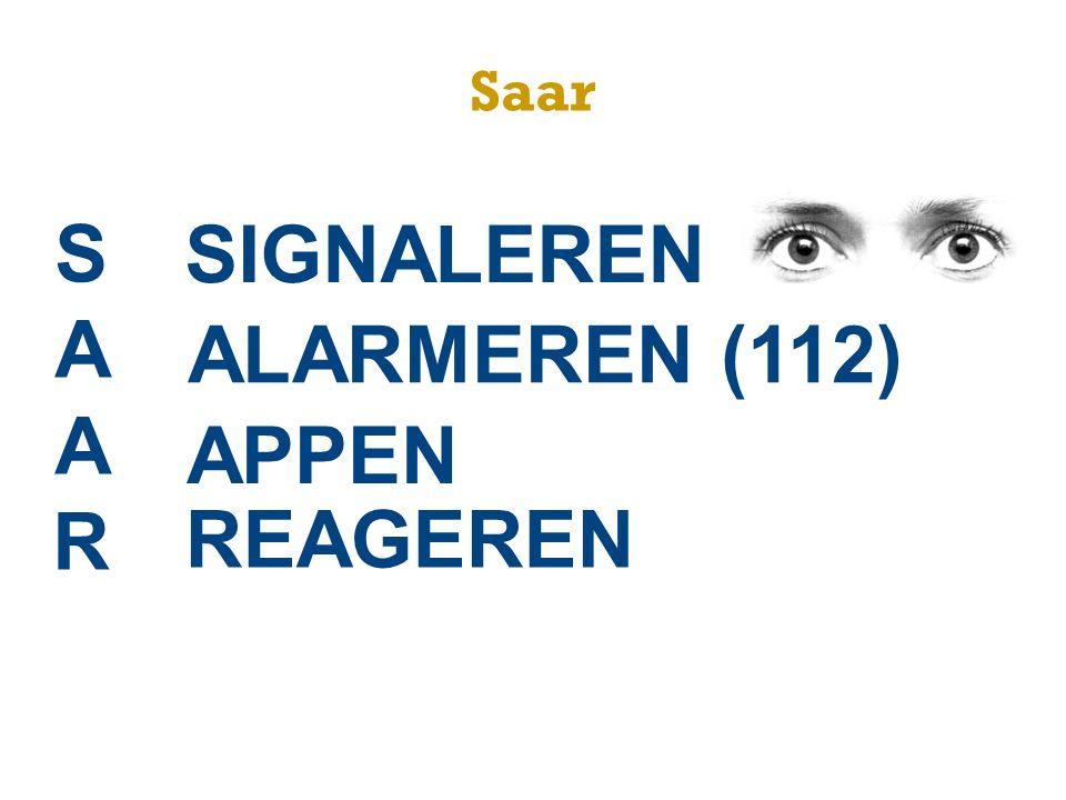 SAAR SIGNALEREN ALARMEREN (112) APPEN