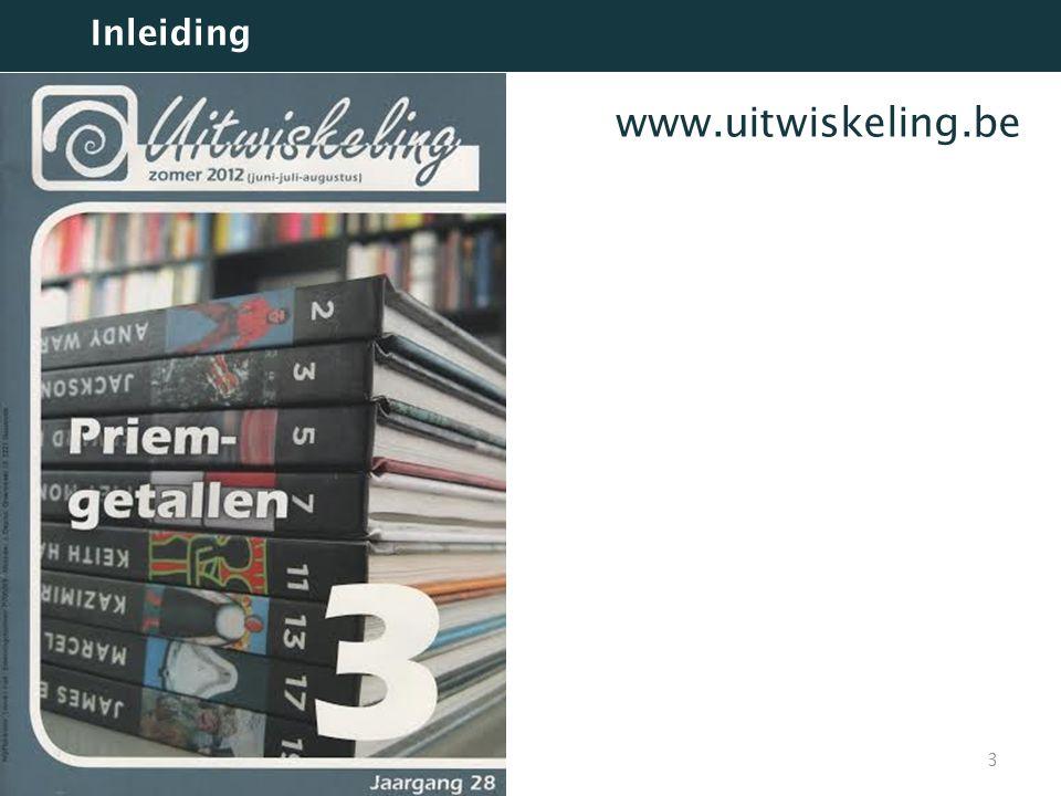 Inleiding www.uitwiskeling.be