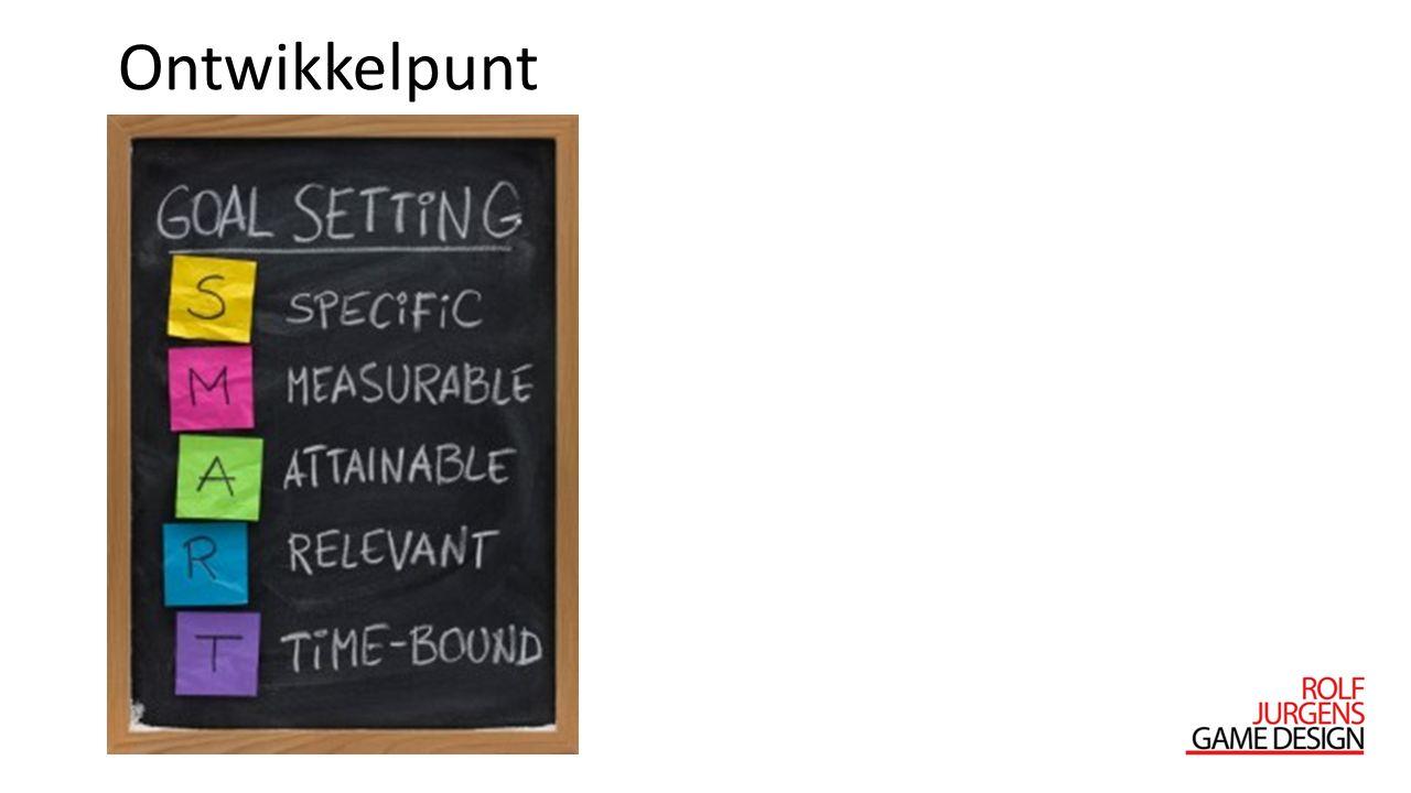 Ontwikkelpunt S: Doelgroepgericht ontwerpen