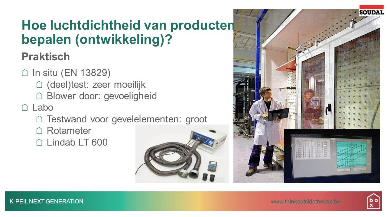 Hoe luchtdichtheid van producten bepalen (ontwikkeling)