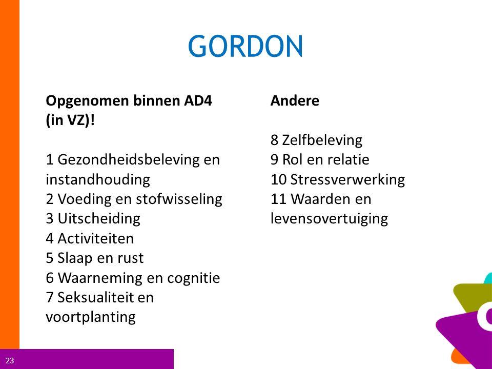 GORDON Opgenomen binnen AD4 (in VZ)!