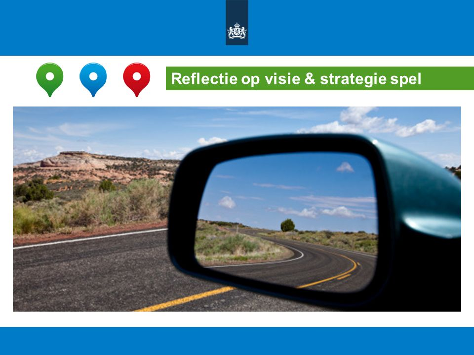 Reflectie op visie & strategie spel